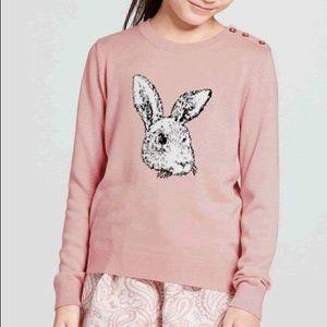 Girl's Victoria Beckham Bunny Sweater Sz Large